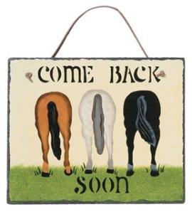 horse rears slate