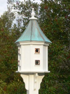 Songbird House with Copper Roof